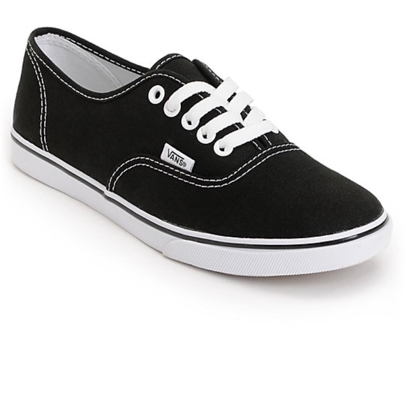 black vans womens 7.5